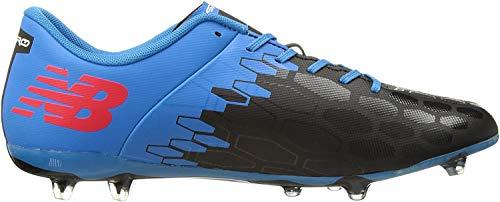 New Balance Visaro 2.0 Control FG, Zapatillas de Fútbol Hombre, Negro (Schwarz/Blau/Rot Schwarz/Blau/Rot), 43 EU