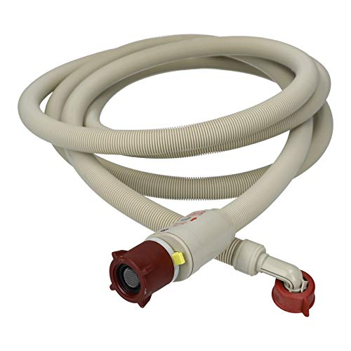 LUTH Premium Profi Parts Universal Manguera de Entrada de Agua aquastop 3,8m para Lavadora y lavavajillas