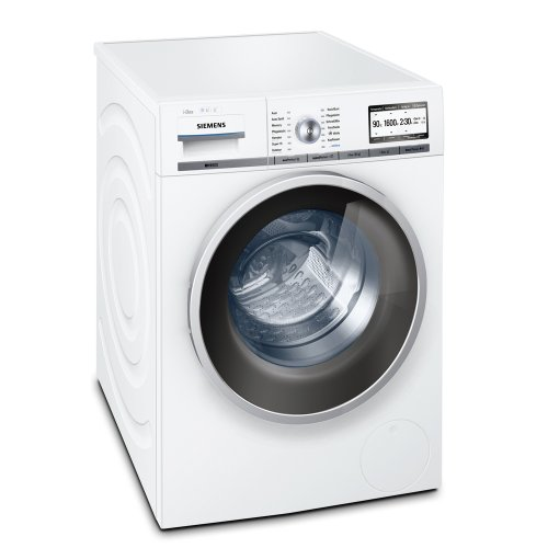 Siemens iQ800 WM16Y841 Waschmaschine Frontlader / A+++ / 1600 UpM / 8 kg / weiß / i-Dos / varioPerfect / ecoPlus