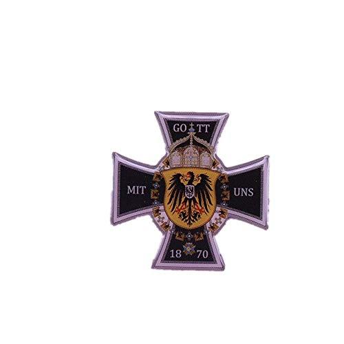 Kaiser Wilhelm Schlachtflagge Preußische Kriegsnadel Abzeichen-Standard