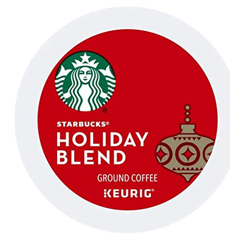 32 Count - Starbucks Holiday Blend Keurig K-Cups (2 packs of 16 kcups)