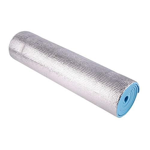 QiKun-Home Estera de Yoga Individual a Prueba de Agua Antideslizante 6 mm de Espesor para la construcción del Cuerpo Salud Perder Peso Ejercicio Gimnasia Cojín Fitness Pad Azul