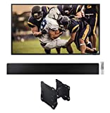 Samsung QN55LST7TA The Terrace 55' Outdoor-Optimized QLED 4K UHD Smart TV with a HW-LST70T 3.0 Ch Terrace Soundbar and a WMN-4070TT Full Motion Wall Mount for The 55' Terrace TV (2020)