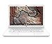 HP Chromebook 14-inch Laptop with 180-Degree Hinge, Full HD Screen, AMD Dual-Core A4-9120 Processor, 4 GB SDRAM, 32 GB eMMC Storage, Chrome OS (14-db0050nr, Snow White) (Renewed)
