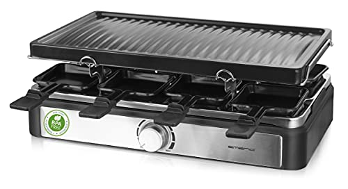Emerio Raclette Grill mit 8...