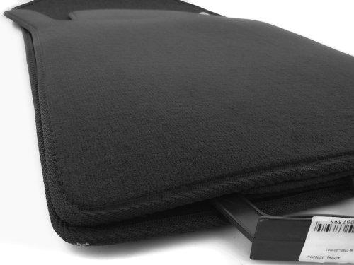 W210 Fußmatten/Velours Automatten Original Qualität Stoffmatten 4-teilig schwarz