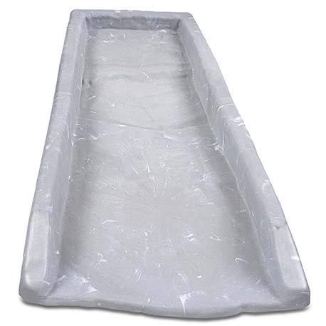 Yardfully Downspout Splashblock, Slate Stone
