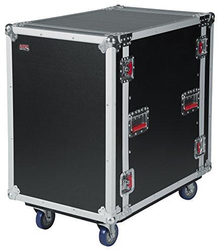 Gator 16U, 24-inch Deep Audio Road Rack Case met Casters (G-TOUR16UCA-24D)