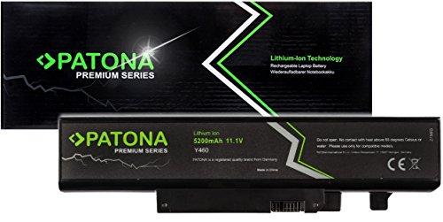 PATONA Premium - Ersatz für Laptop Akku Lenovo Ideapad (5200mAh) zu B560 V560 Y460 Y560 (ragt Nicht über das Gehäuse hinaus)