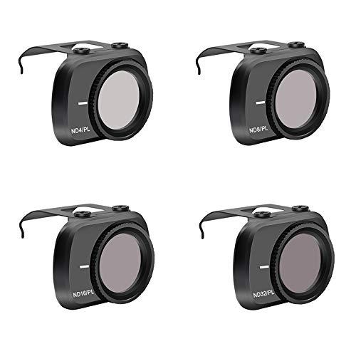 Fenmic DJI Mavic Mini 2 対応 レンズ フィルター (ND4-PL+ND8-PL+ND16-PL+DN32-PL)
