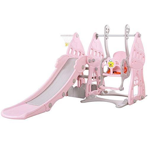 YANGSANJIN Peuter Klimmer en Swing Set Combinatie van Swing Slide voor Outdoor & Indoor & Tuin Speeltuin Kinderglijbaan