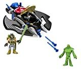 Imaginext DC Batwing Bundle; 2-Piece Set: Batwing Playset Batman and Swamp Thing Figures