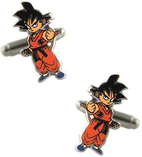 MasGemelos - Gemelos Goku Dragon Ball Cufflinks