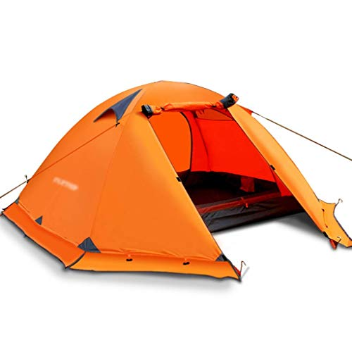 FYSY Carpas Carpas for Acampar Coleman Carpa Exterior Engrosamiento Tienda de campaña portátil de Doble Salvaje Sola Tienda de campaña turística Doble a Prueba de Lluvia automático fangkai77