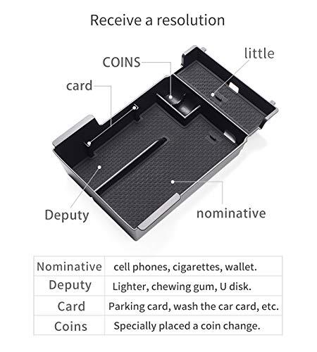 Caja De Almacenamiento De La Caja Del Reposabrazos Del Coche Para Mazda 3 2020 Axela Mazda3 Accesorios Caja De Almacenamiento De La Consola Central Caja De Almacenamiento De Monedas De Tarjeta