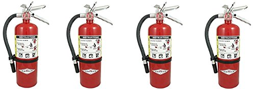 Amerex B500, 5lb ABC Dry Chemical Class A B C Fire Extinguisher (4)