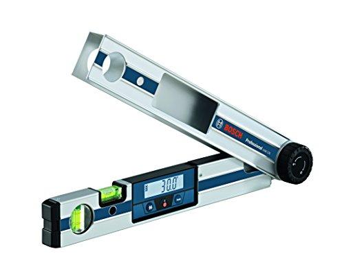Bosch Professional Medidor digital de ángulos GAM 220 (margen de medición: 0 - 220º, longitud: 40 cm)