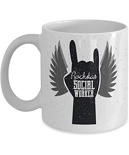 MJDIY Reisebecher,Sozialarbeiter-Tasse - Geschenke Für Sozialarbeiter