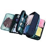 Portable Underwear Bra Storage Bag Waterproof Travel Organizers Multi-Layer Toiletry Packing Cube