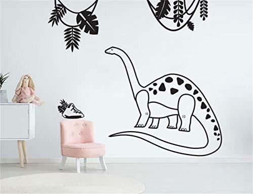Muurtattoo muursticker dinosaurus dinosaur jungle muursticker kinderkamer wanddecoratie sjabloon decor dinosaurus voor jongens 59.4x59.4 cm