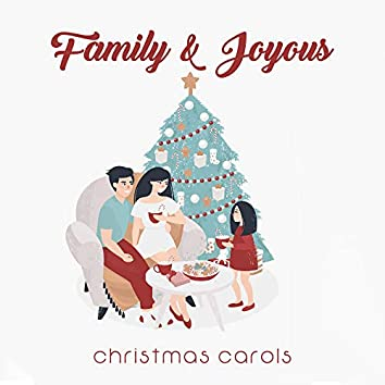 Family & Joyous Christmas Carols: 15 Essential Christmas Songs, Instrumental Melodies, Peaceful Winter Holiday Tracks, Relaxing Christmas Time