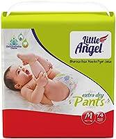 Little Angel Baby Diaper Pants, Medium (5 - 11 kg), 74 Count