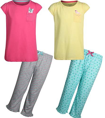 Rene Rofe Girl/'s 2-Piece Coral Fleece Character Pajama Short Set with Hoodie