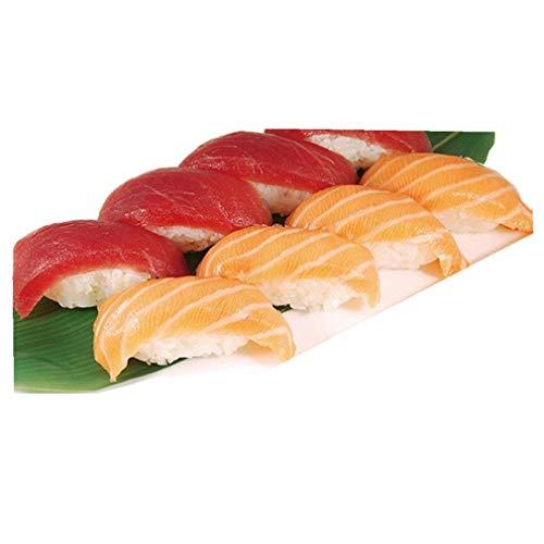 HENGSONG Sushi Boules de Riz Maker Appareil Blanc 5 Grille Bento Sushi Moule