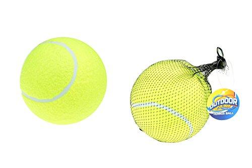 Toi- Toys 62094A Tennisball XXL Spielball Outdoorball Ø 15 cm gelb Hundeball