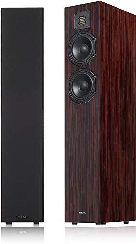 Piega Classic 5.0 Premium Floorstanding Speakers (Pair) (High Gloss Macassar)