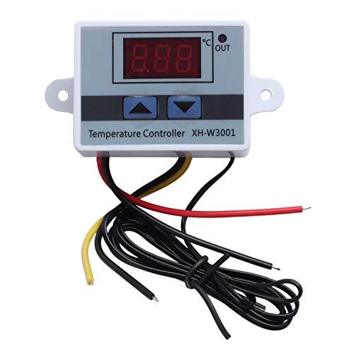 BOINN 220V Digital LED Controlador de Temperatura 10A Termostato Sonda de Interruptor de Control Nuevo