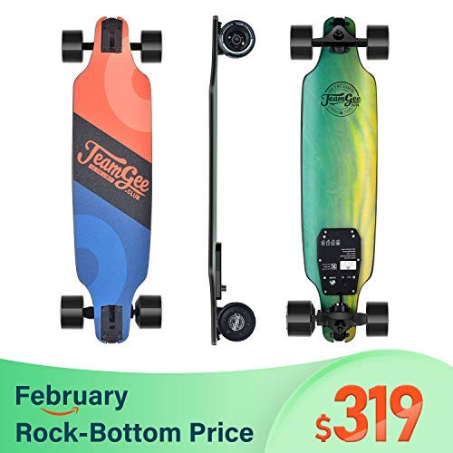 Teamgee H8 31' Electric Skateboard, 15 MPH Top Speed, 480W...