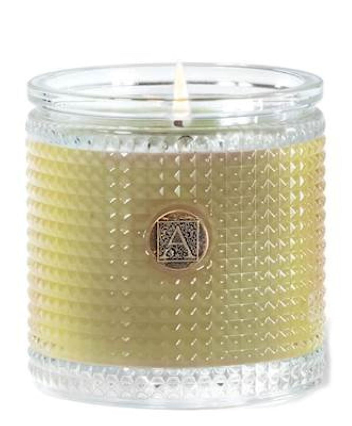書店甘やかす持つGrapefruit Fandango 160ml Textured Glass Candle by Aromatique (1)