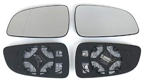 ProCarpentis kompatibel mit Astra H Achtung! passend nur bis Facelift -04/2009 Spiegel Spiegelglas rechts und Links beheizbar für Außenspiegel elektrisch und manuell verstellbar geeignet,