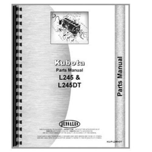 Parts Manual - L2250 L2550 Kubota L2550 L2250 -  All States Ag Parts