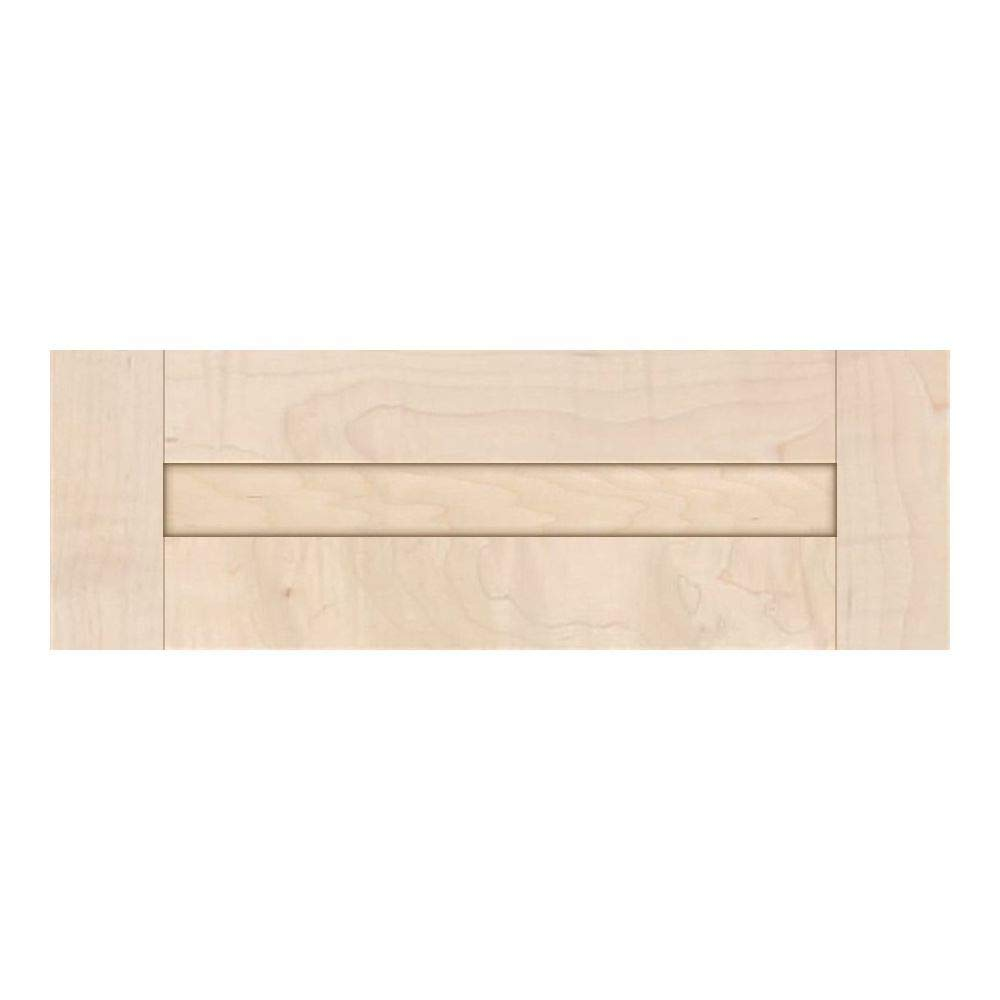 Unfinished Shaker Drawer Fronts in MDF by Kendor 6H x 19W