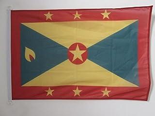 علم أريزونا علم جرينادا 2 × 3 قدم للخارجية - أعلام جرينادي 90 × 60 سم - لافتة 0.6 × 3 قدم محبوك من البوليستر مع خواتم