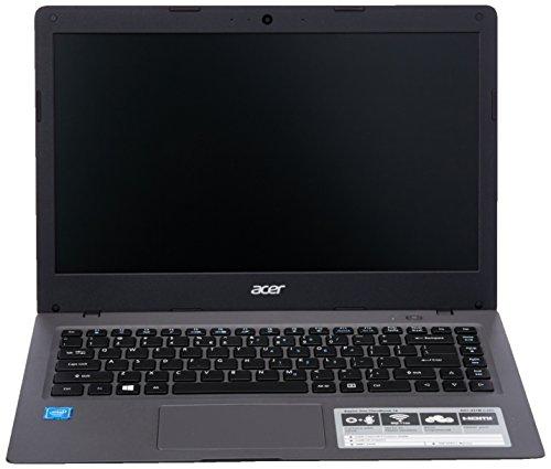 Acer Aspire One Cloudbook NX.SHJAA.002;AO1-431M-C49H Laptop (Windows 10 Pro 64, Intel Celeron N3050 / 1.6 GHz, 14' LCD Screen, Storage: 64 GB, RAM: 2 GB) Grey
