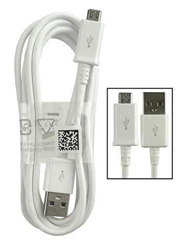Samsung - Cargador de coche y enchufe adaptador rápido para Samsung Micro USB de carga y sincronización de datos y compatible con todos los otros dispositivos micro USB (enchufe y cable micro USB)