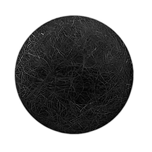 Felt Balls Pompoms DIY Wool Ball Decoration Felt Monochromatic Small for Felt Garland Indoor Decorations Black 2cm