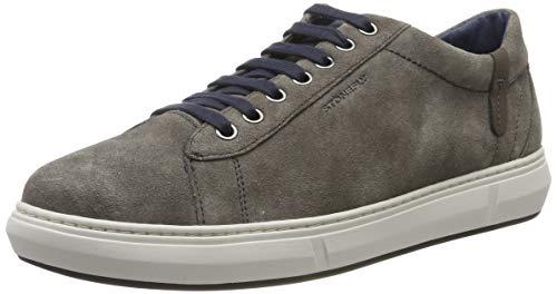 Stonefly Rapid Washed Velour, Zapatos de Cordones Derby para Hombre, Marrón (Morel Lt Brown 2ar), 42 EU