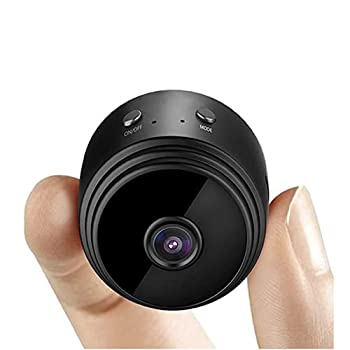 Genofo Mini Hidden Spy Camera Wireless WiFi 1080P HD Video and Audio Night Vision Motion Detection Support SD Card Portable Tiny Cameras