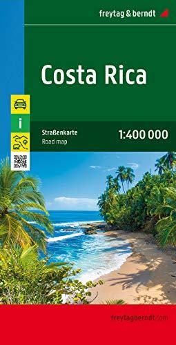 Costa Rica, Autokarte 1:400.000: Wegenkaart 1:400 000