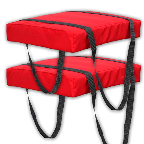 Cheap Bradley Type IV Boat Cushion USCG Approved Throwable Flotation Device – Red
