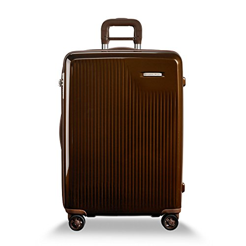 Briggs & Riley Sympatico-Hardside CX Expandable Medium Checked Spinner Luggage, Bronze