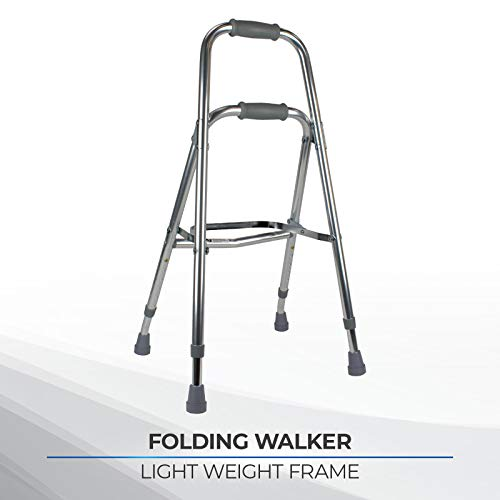 Days Hemi Walker, Lightweight Mobility Aid for Elderly, Disabled, or Handicapped, Height Adjustable...
