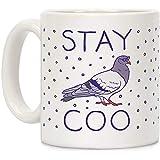 Stay Coo Pigeon 11オンスセラミックコーヒーマグ
