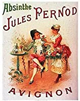 S-RONG雑貨屋 Absinthe Jules Pernod Avignon ブリキブリキ 看板レトロ デザイン Xmas 贈り物20x30cm