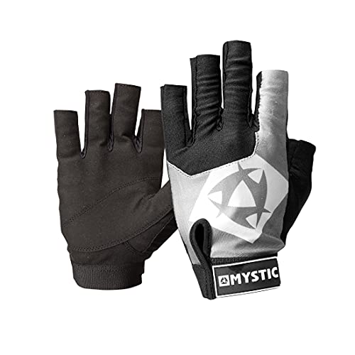 Mystic Rash Short Finger Glove Black 140285 Sizes- - XXLarge