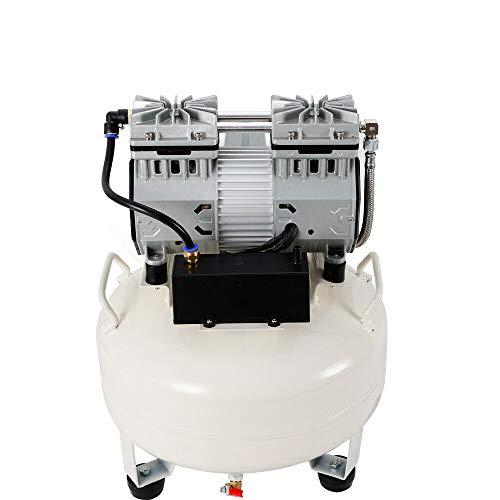 Compresor de aire comprimido, 15-30 L, silencioso, 680 W, sin aceite, silencioso, sin aceite